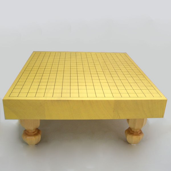 碁盤 新かや二寸一枚板足付碁盤  竹