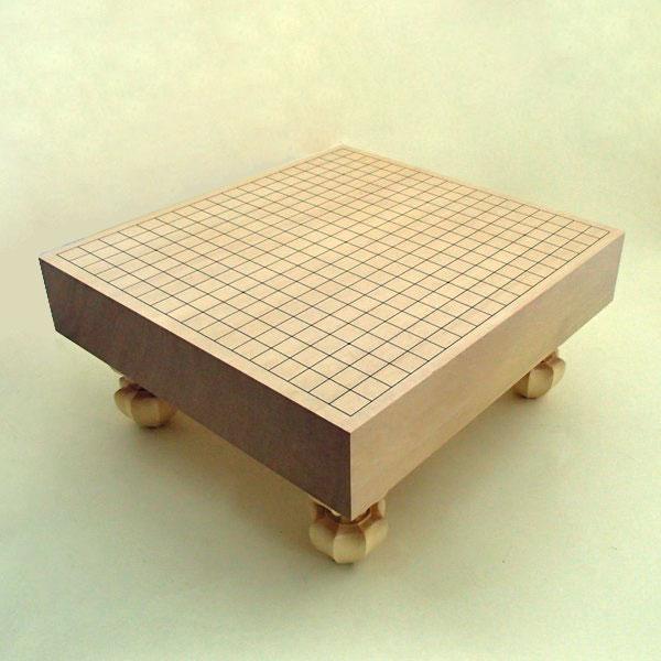 木製碁盤 新かや 3寸足付碁盤 竹