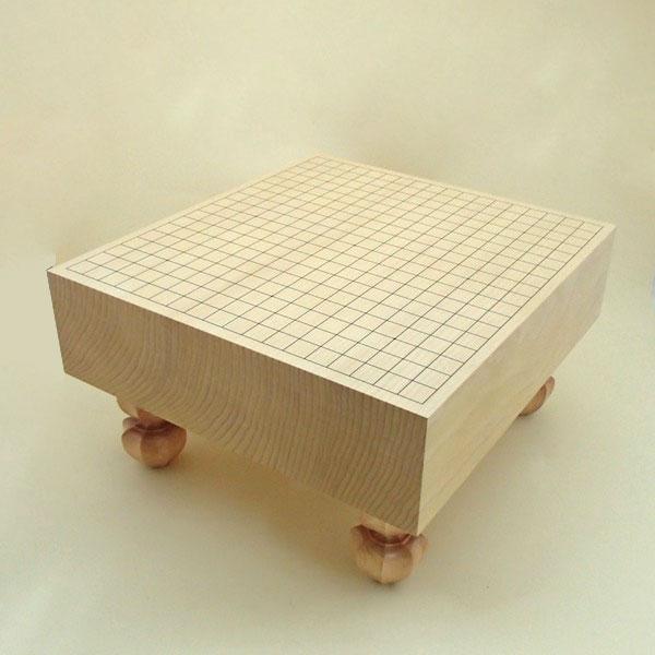木製碁盤 新かや4寸足付碁盤 竹