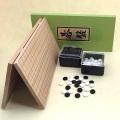 囲碁セット  新桂5号折碁盤とP碁石梅・角ケース