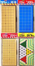 囲碁セット 携帯便利なマグネットDXゲームフォー(将棋 ・ シクロ ・ 五並べ ・ ダイヤ)