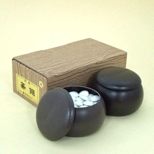 碁石 プラスチック碁石・碁笥 人気の椿セット