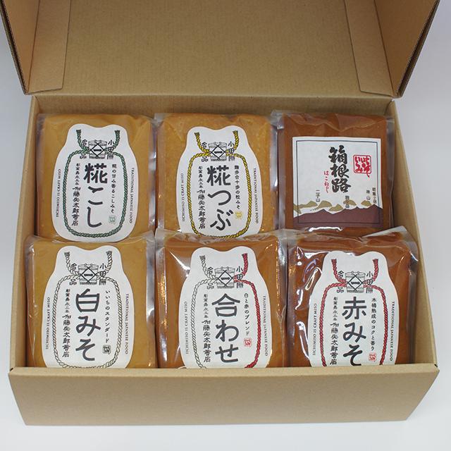 【ご贈答・お中元・お歳暮】味噌500g x 6(コードNo.14)