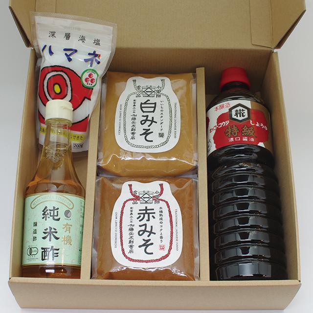 【ご贈答・お中元・お歳暮】調味料セット(コードNo.32)