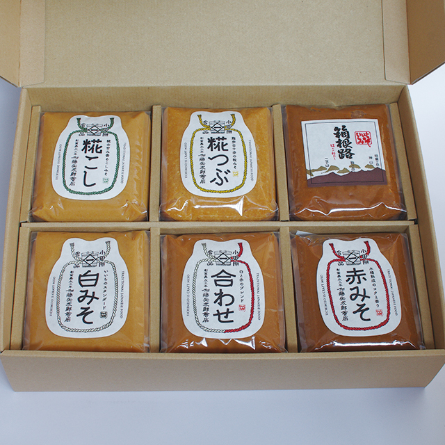 【ご贈答・お中元・お歳暮】味噌1kg x 6(コードNo.58)
