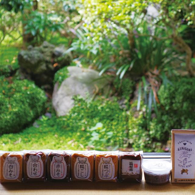 【ご贈答・お中元・お歳暮】味噌8種セット(コードNo.60)