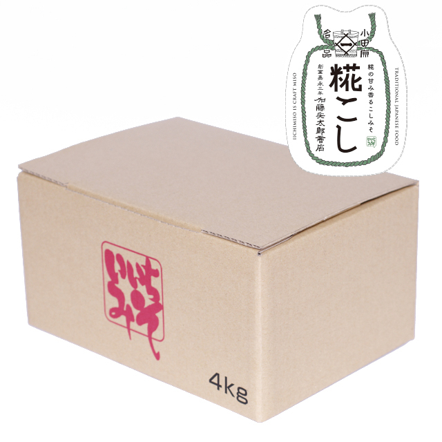 いいちみそ 糀こし(4kg)<箱詰め>