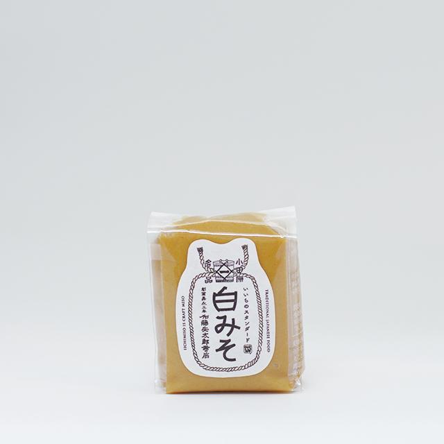 【当社人気No.1のお味噌】いいちみそ 白みそ(200g)<袋詰>