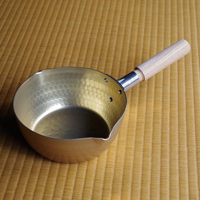 アルミ雪平鍋18cm