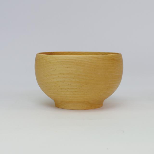薗部産業 銘木椀 ぶな 中サイズ