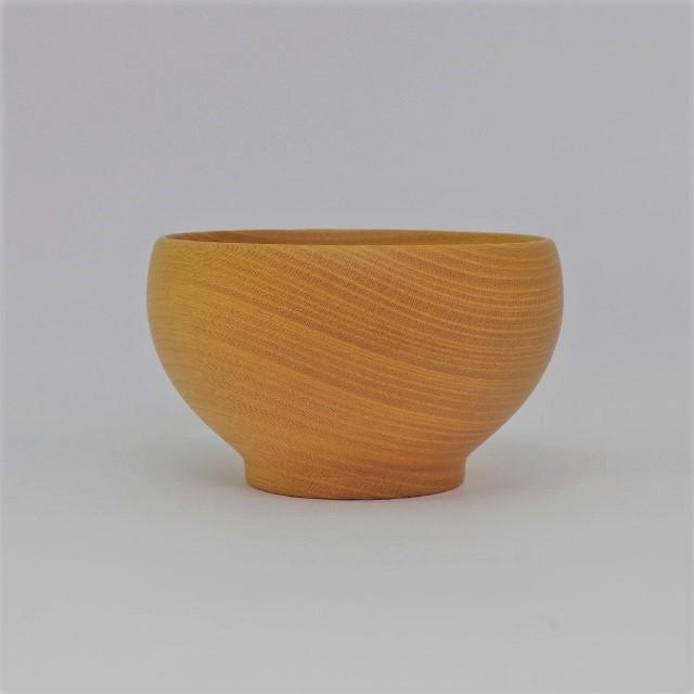 薗部産業 銘木椀 けやき 中サイズ