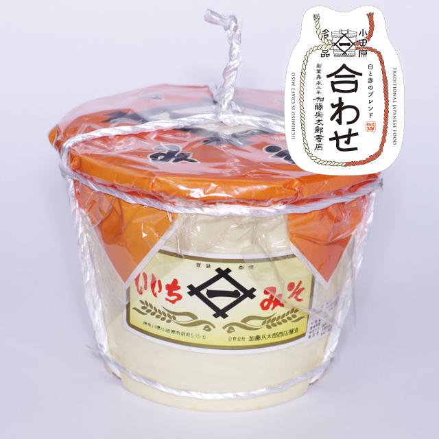 いいちみそ 合わせ(4kg)<ポリ樽(縄かけ)>