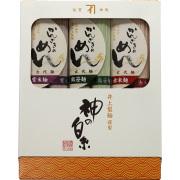 [FM-15]古代麺詰合わせ(赤米・熊笹・紫米)(160g x 3)