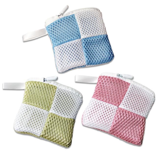 3色 洗濯洗剤ネット