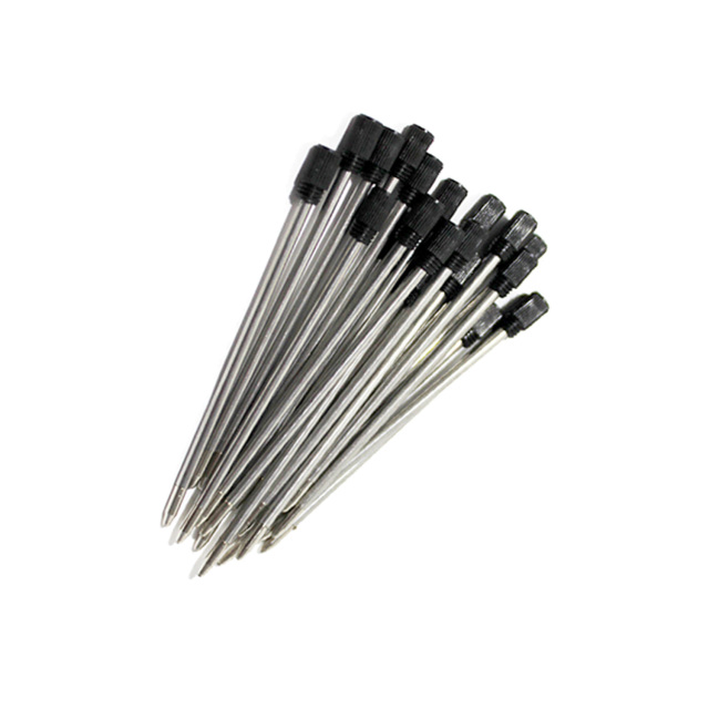 ハーバリウム ボールペン 替え芯 21本セット ハーバリウムペン キット 黒