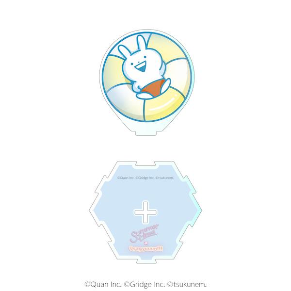【うさぎゅーん! × summertime】ダイカットアクリルスタンドE