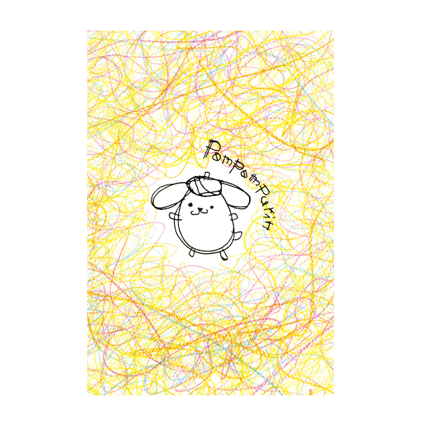 【POMPOMPURIN×Foomiy】 ポストカード A