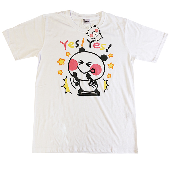 ぱんだっちプリントTシャツ 9272-0462 YESYES