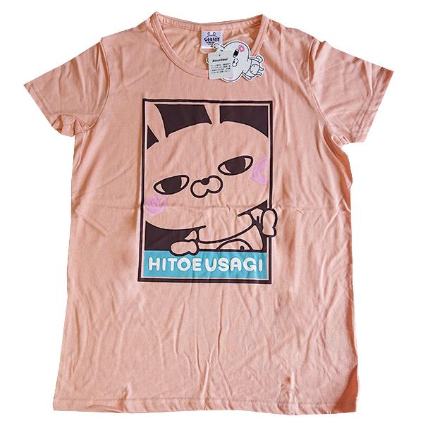 ひとえうさぎ プリントワイドTシャツ 9283-4723 フレーム