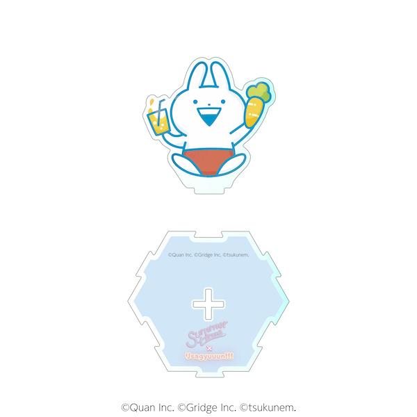 【うさぎゅーん! × summertime】ダイカットアクリルスタンドB