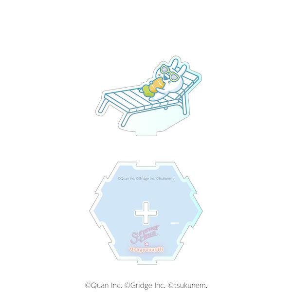 【うさぎゅーん! × summertime】ダイカットアクリルスタンドF