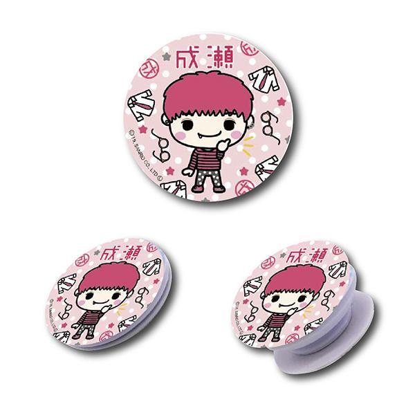 リレイズクリエイターズ Design produced by Sanrio スマホグリップ 成瀬 4580560325233