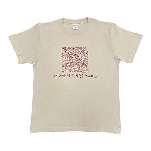 【POMPOMPURIN×Foomiy】 Tシャツ NT