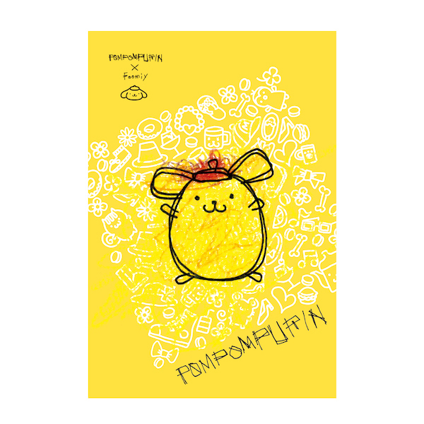 【POMPOMPURIN×Foomiy】 ポストカード B