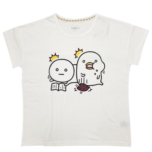 うるせぇトリ ドロップショルダープリントTシャツ(うるせぇトリ&まるいの) 8283-1718