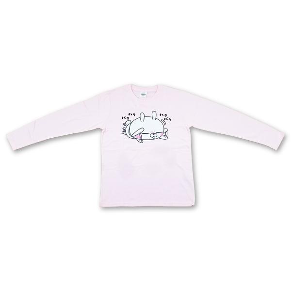 ひとえうさぎ長袖プリントTシャツ 8472-7490-2 ハタバタ