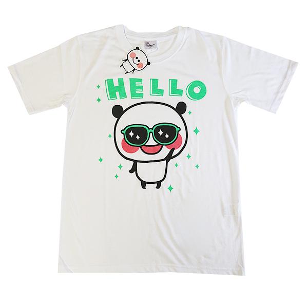 ぱんだっちプリントTシャツ 9272-0462 HELLO