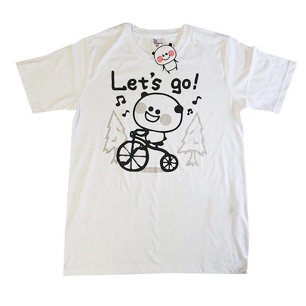 ぱんだっちプリントTシャツ 9272-0463 Lets go