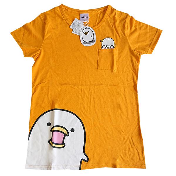 うるせぇトリ プリントTシャツ 9283-4720 ポッケ付き