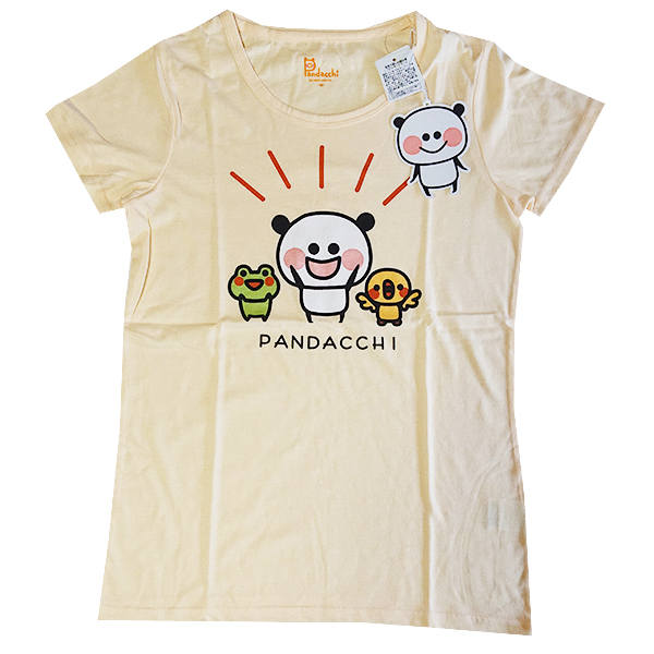 ぱんだっちプリントTシャツ 9283-4734 ぱんだと仲間