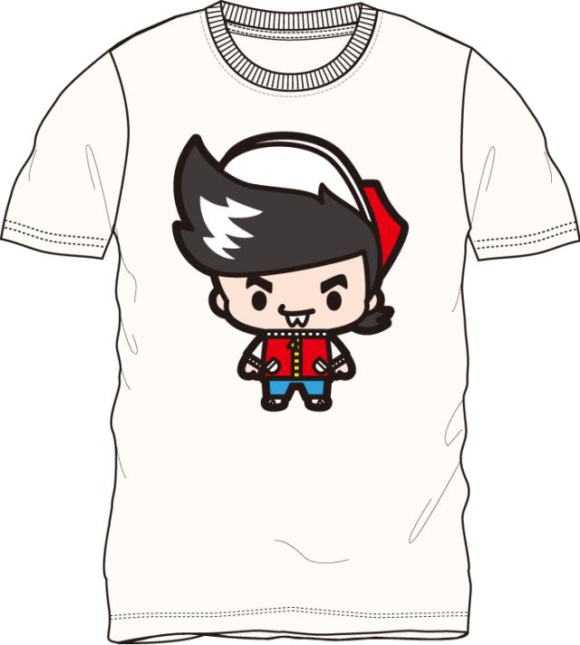 ゲームセンターあらし/石野あらし 半袖Tシャツ オフホワイト