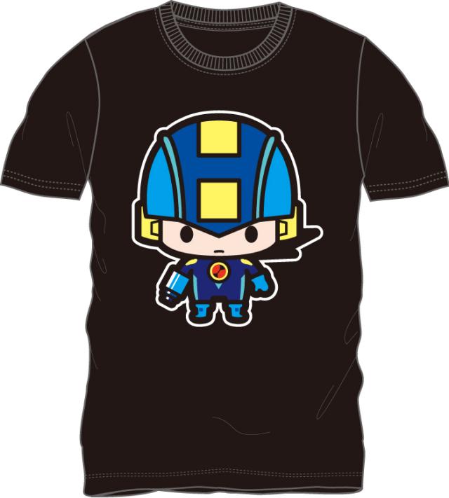 ロックマンエグゼ/ロックマン 半袖Tシャツ ブラック