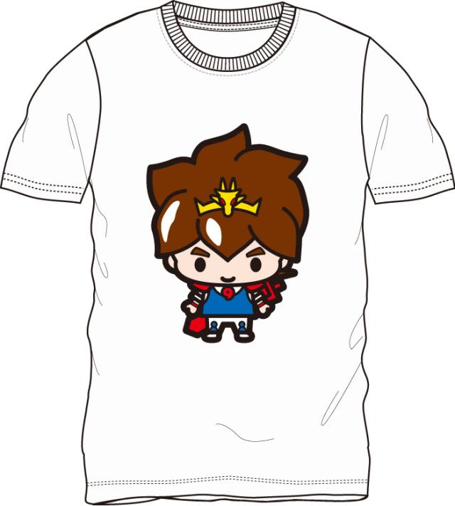 魔神英雄伝ワタル/戦部ワタル 半袖Tシャツ ホワイト