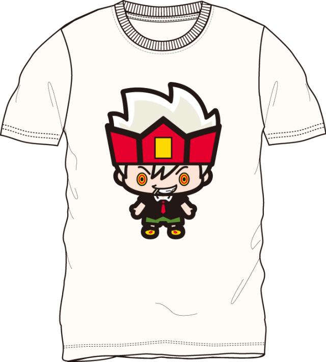ウソツキ!ゴクオーくん/ゴクオー 半袖Tシャツ オフホワイト