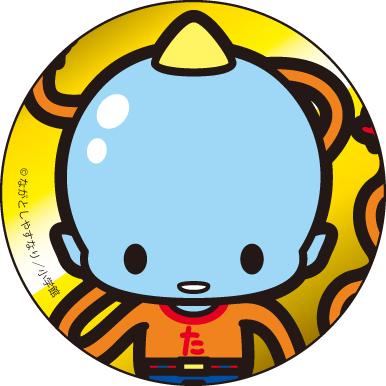 うちゅう人田中太郎/田中太郎 カンバッジ