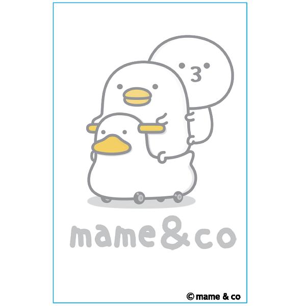 【うるせぇトリキャンバスアート】ハガキサイズ mame&co
