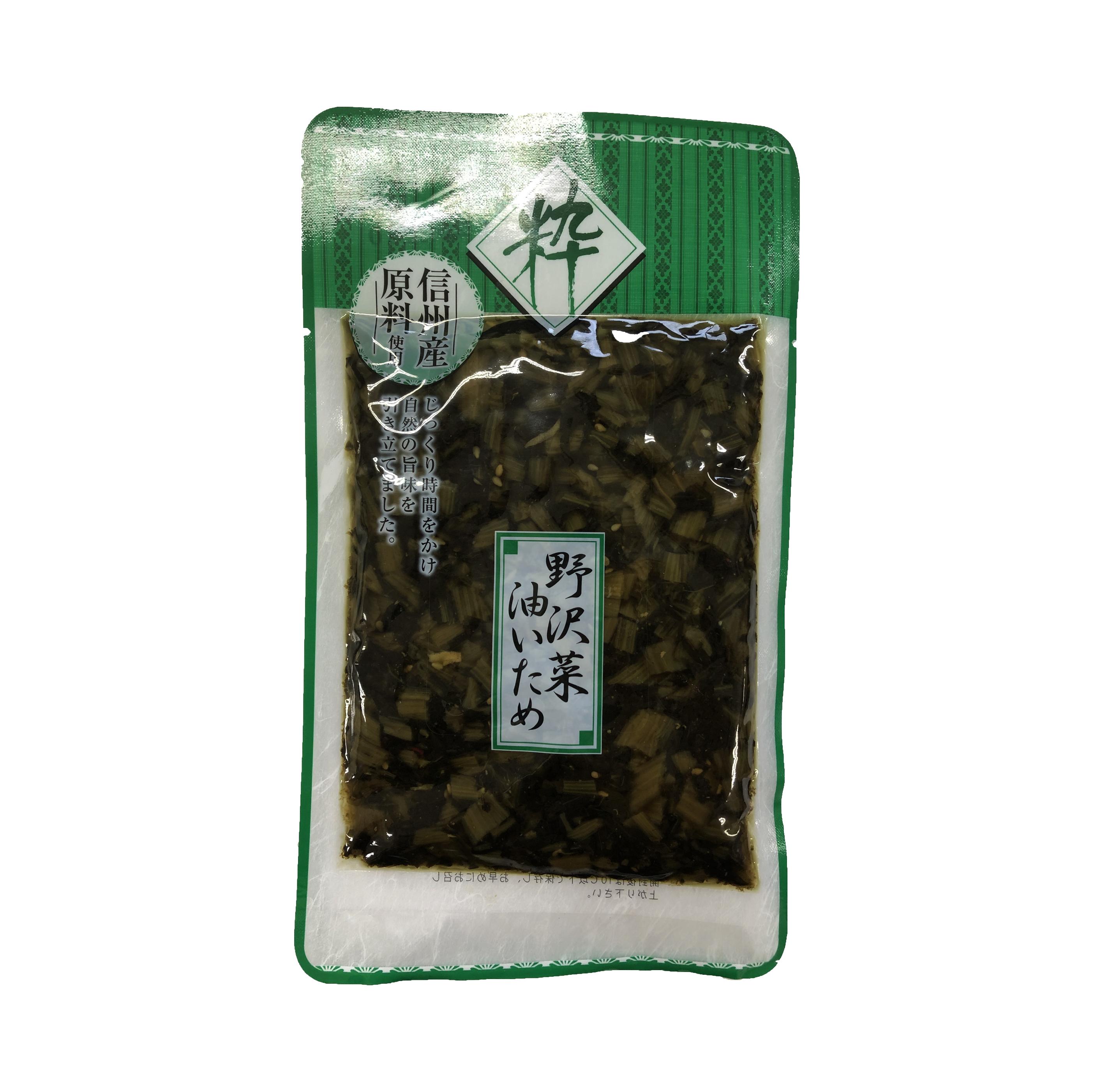 野沢菜油炒め 150g