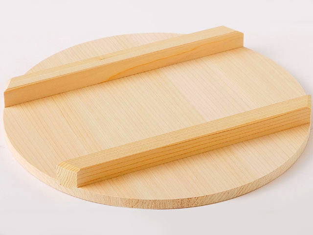 国産木曽さわら 寿司飯台用蓋 27cm