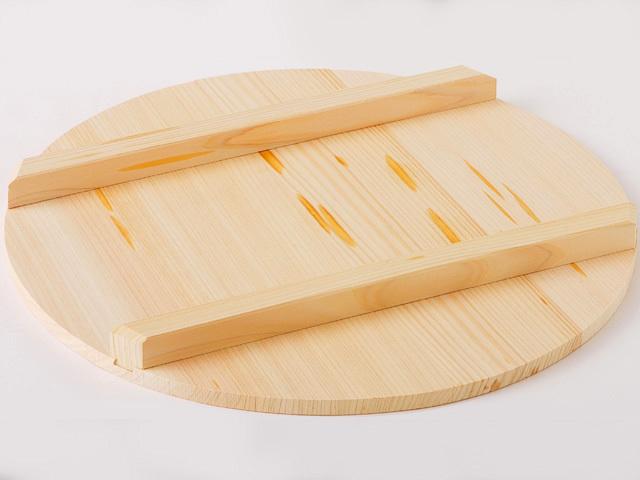 国産木曽さわら 寿司飯台用蓋 33cm
