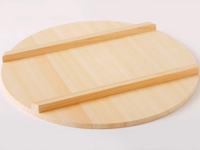 国産木曽さわら 寿司飯台用蓋 45cm