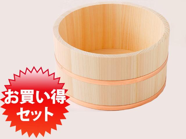 お買い得セット:檜湯桶(大)10個1セット