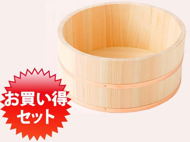 お買い得セット:檜湯桶(小)10個1セット