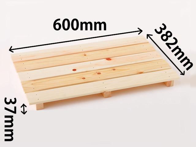 檜多目的すのこ600(5枚打)