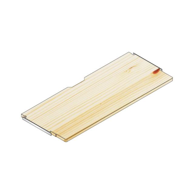 デスク棚板100x40/30