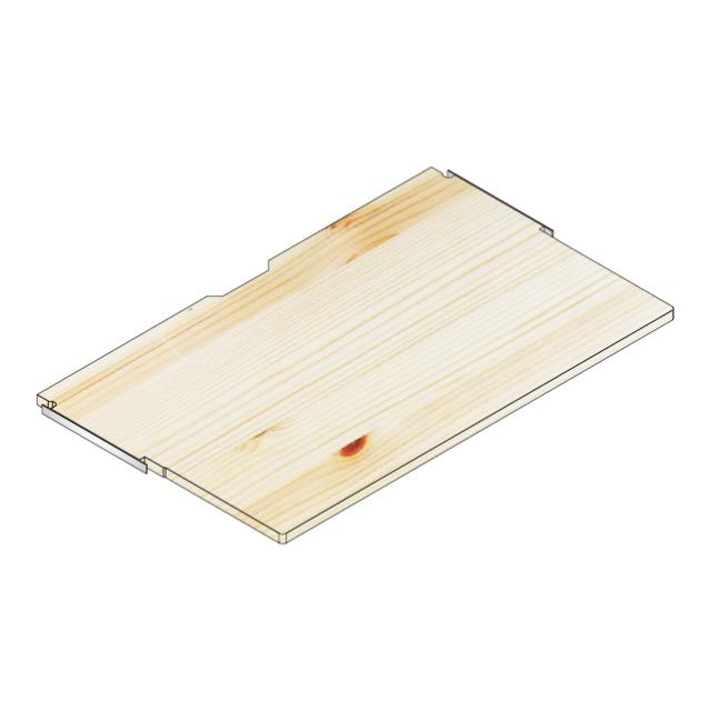 デスク棚板100x60/30
