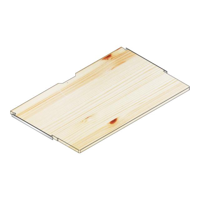 デスク棚板100x60/40